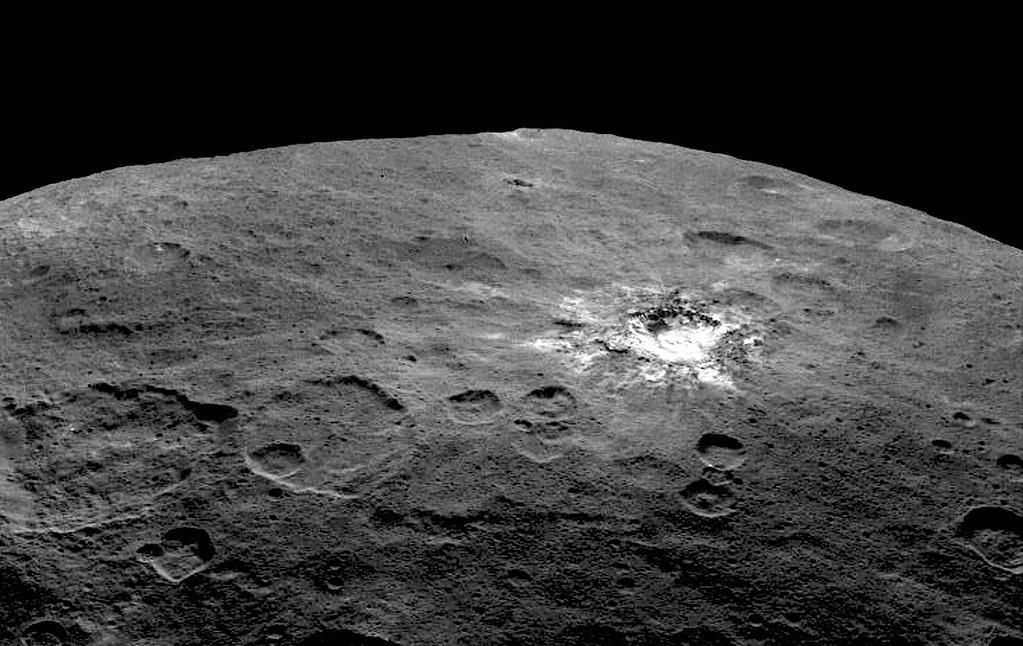 AstroNova le blog de l'astronomie et de l'espace - Cérès vu depuis la sonde Dawn © NASA/JPL