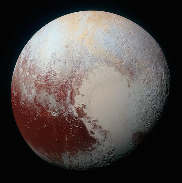 AstroNova le blog de l'astronomie et du spatial - Pluton vu par New Horizons