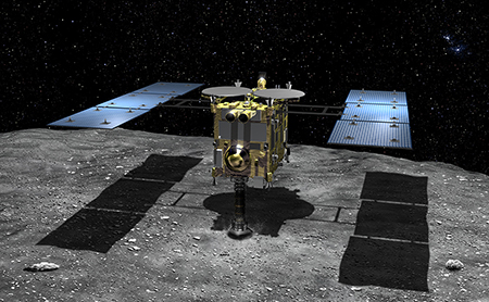 AstroNova le Blog de l'astronomie et de l'espace - Hayabusa-2 © JAXA