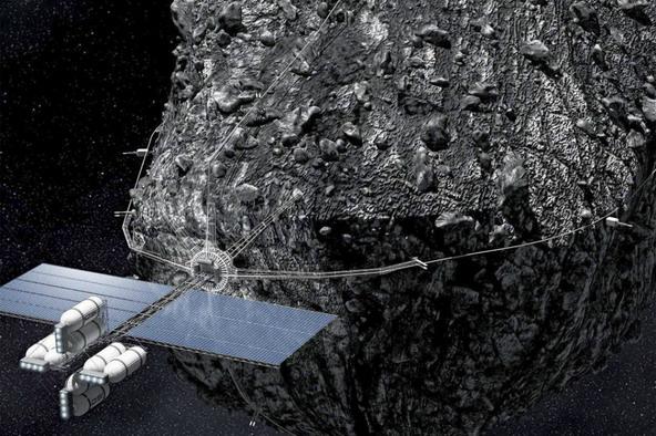AstroNova le Blog de l'astronomie et de l'espace - Forage d'astéroïdes © Geoforum