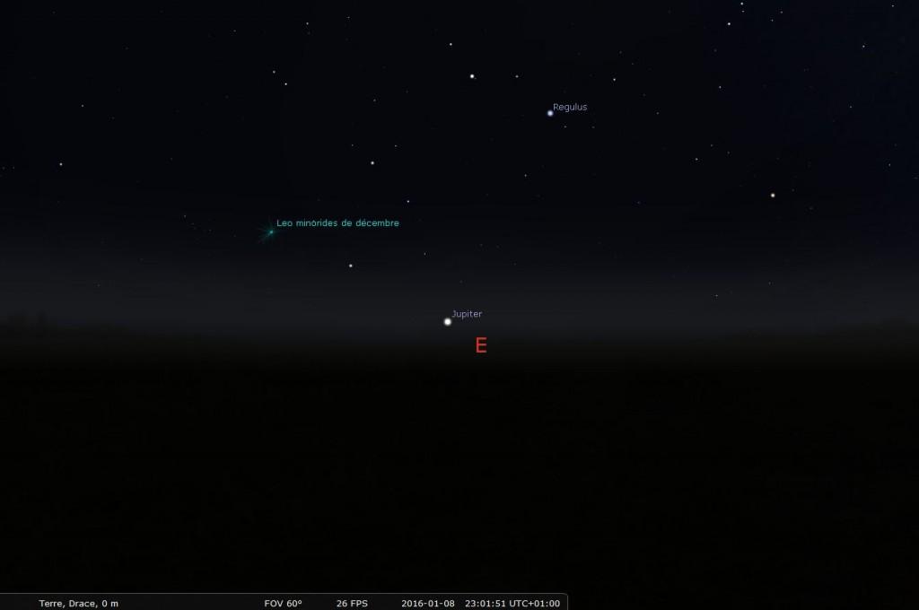 Astronova site astronomie - astro 2016 observer Jupiter oeil nu - position Jupiter 08012016