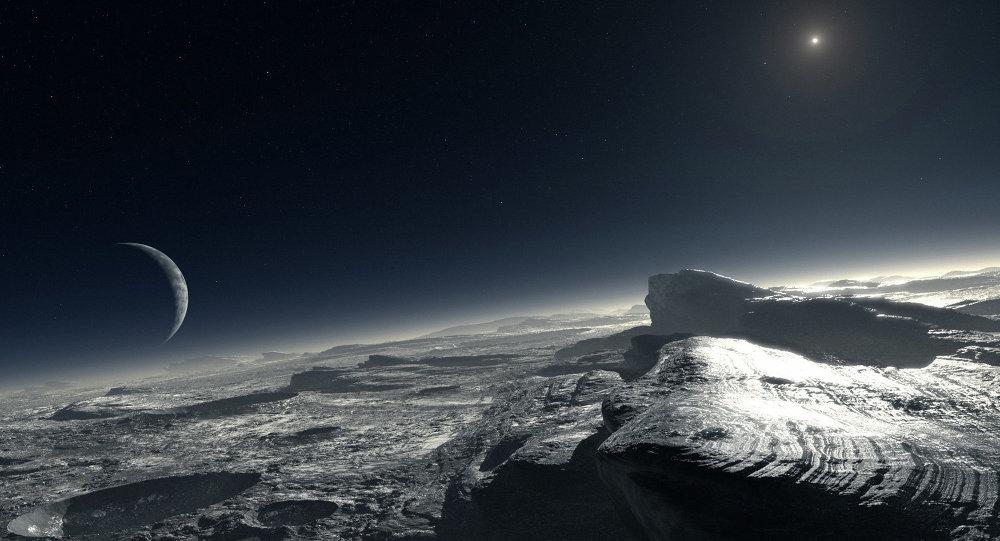 Les icebergs de Pluton © NASA