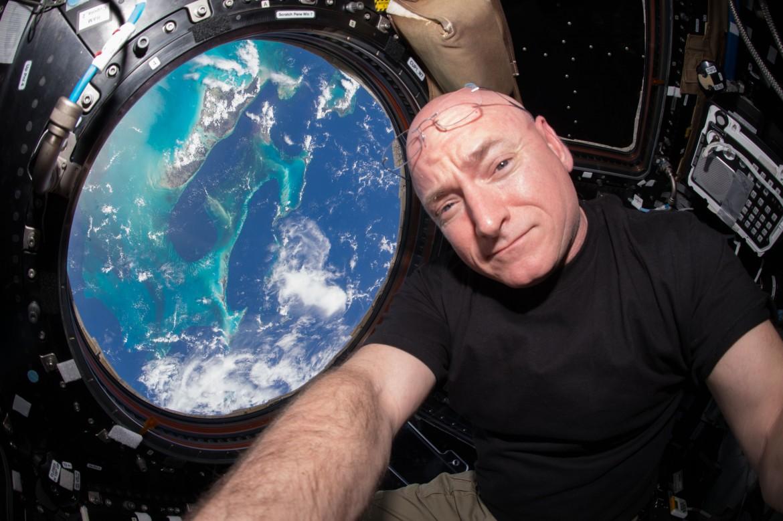 Scott Kelly dans l'espace