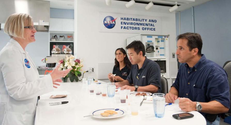 C'est soirée Top Chef à la NASA