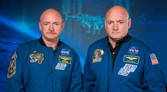 Scott et Mark Kelly @ NASA