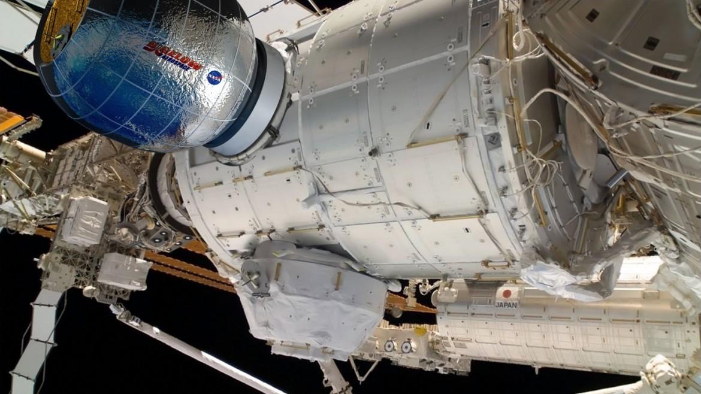BEAM amaré à la Station Spatiale Internationale © Bigelow Aerospace
