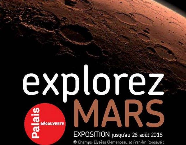 Expo Explorez Mars au Palais de la Découverte © Universciences