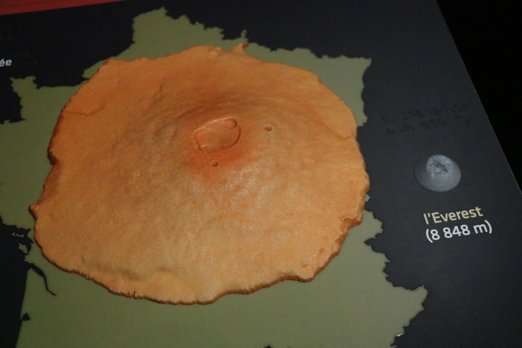 Et si le Mont Olympe était en France... © Astronova
