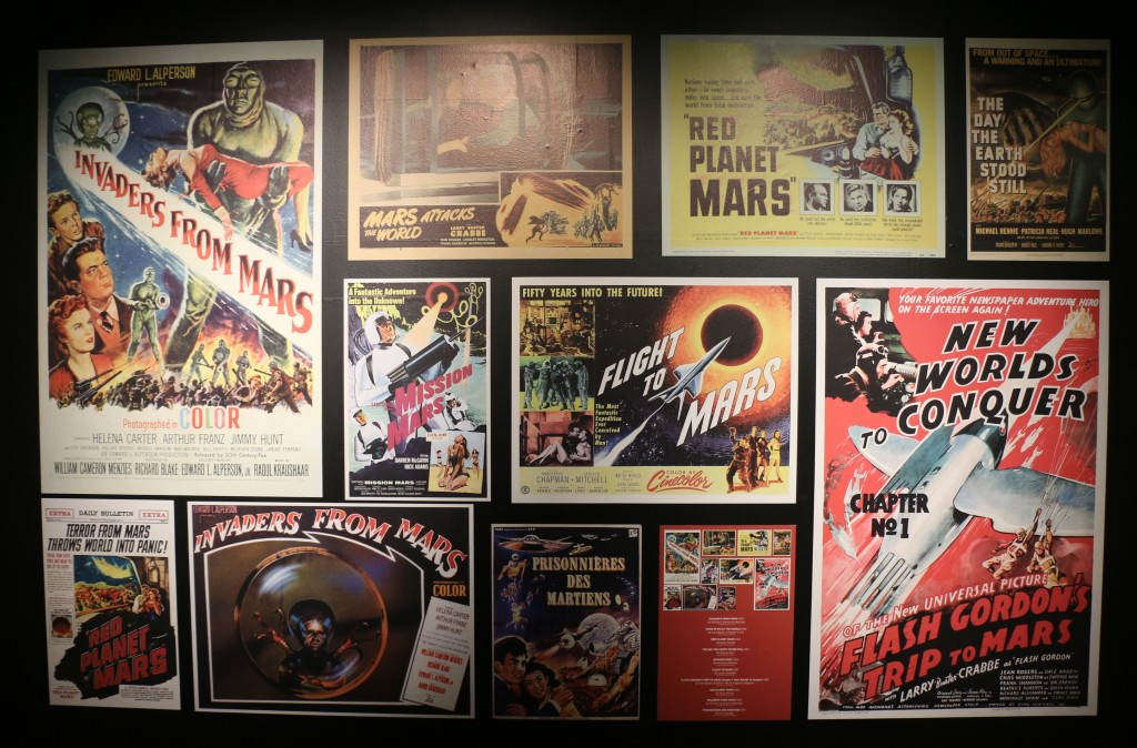 Collection d'affiches martiennes © Astronova