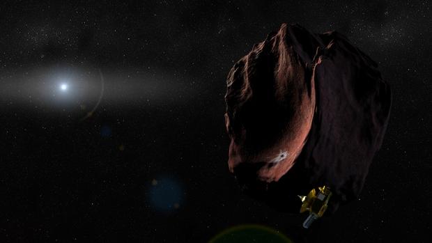L'astre RR245 a été trouvé dans la Ceinture de Kuiper © NASA