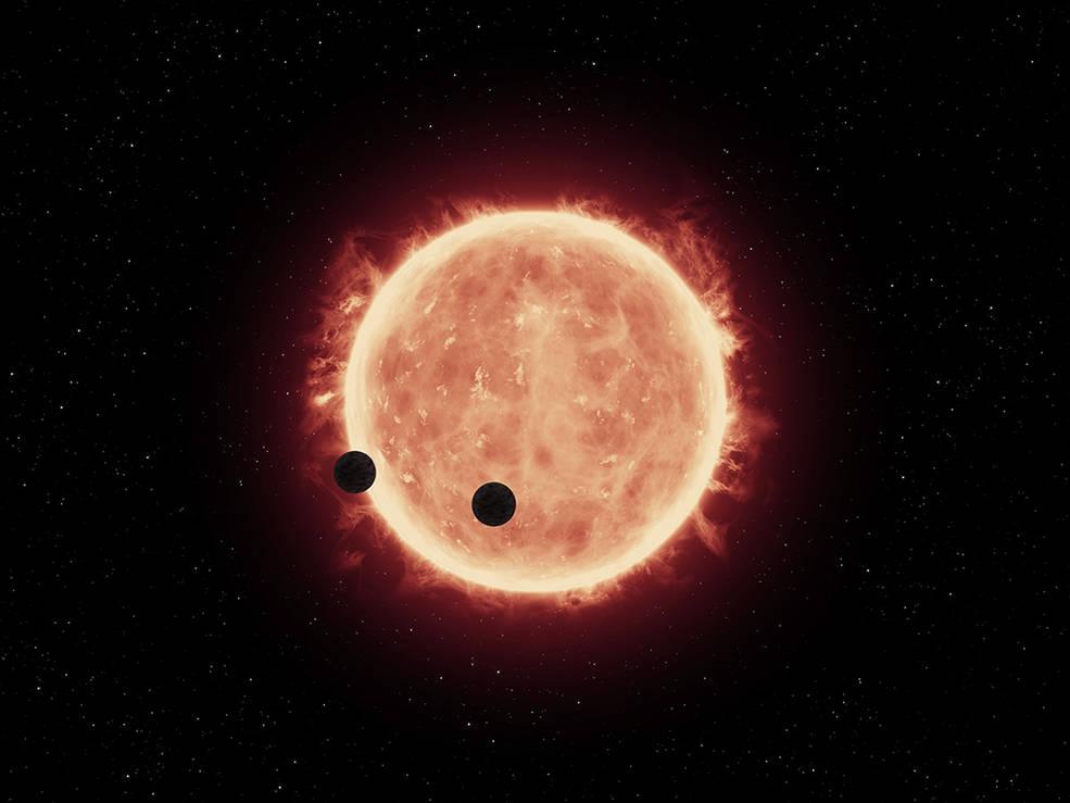 Trappist-1 © NASA