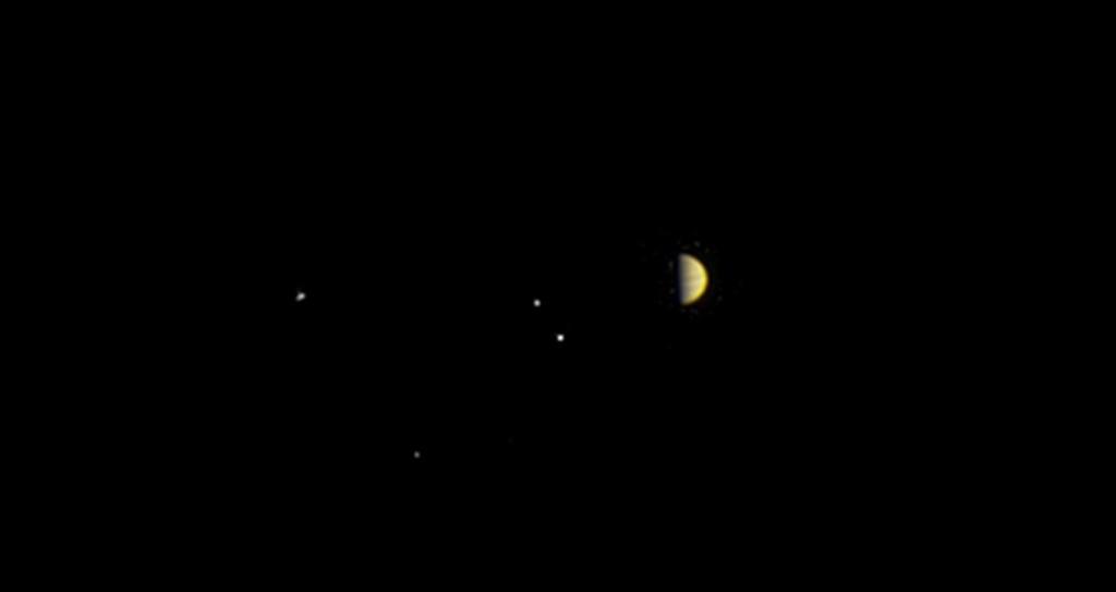 Le système jovien sous les yeux de Juno © JunoCam NASA