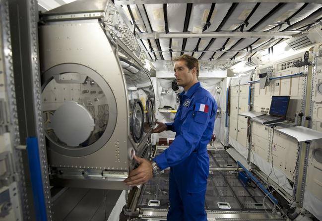 Thomas Pesquet effectuera des missions scientifiques à bord de l'ISS © ESA