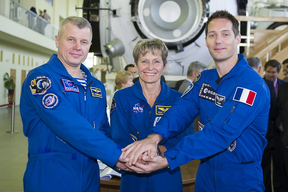 L'équipe Proxima au complet © CNES