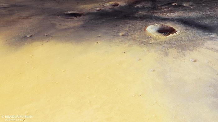 Site d'atterrissage d'ExoMars Ca c'est le scénario idéal © ESA