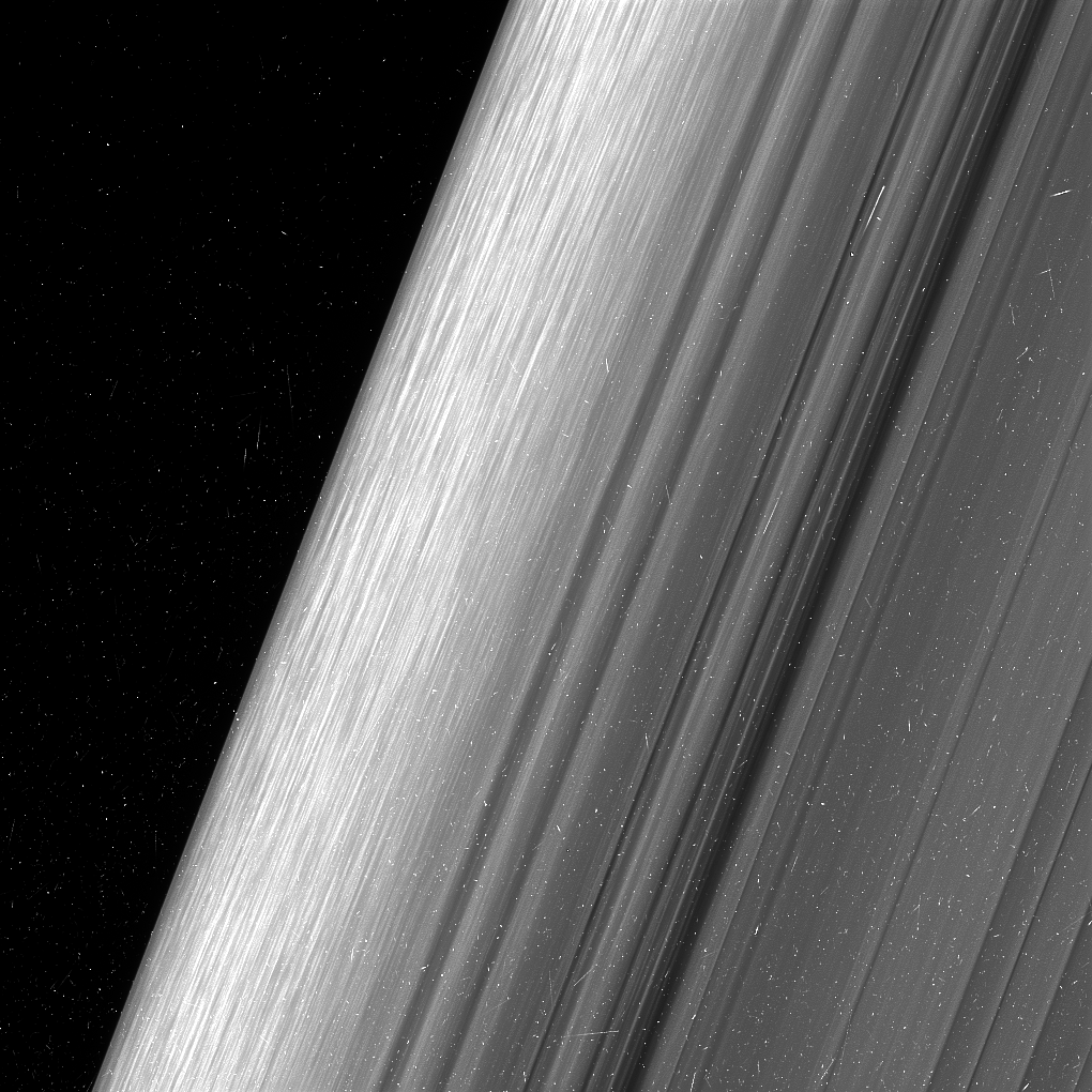 Anneau B de Saturne © NASA/JPL-Caltech/Space Science Institute