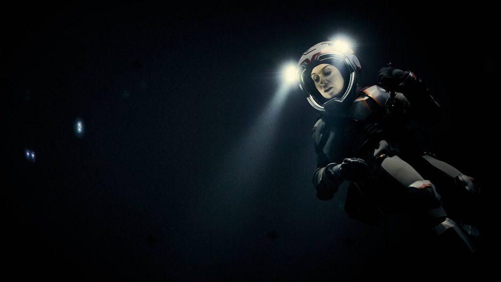 Marta Kamen dans la série Mars © National Geo
