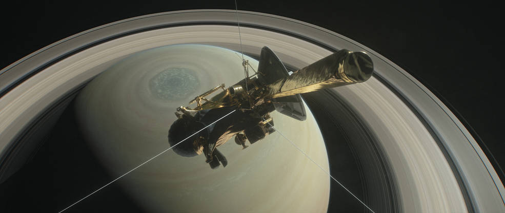 Le grand final de Cassini © NASA/JPL-Caltech