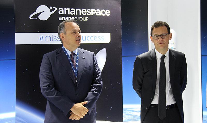 Giulio Ranzo et Stéphane Israel © Avio