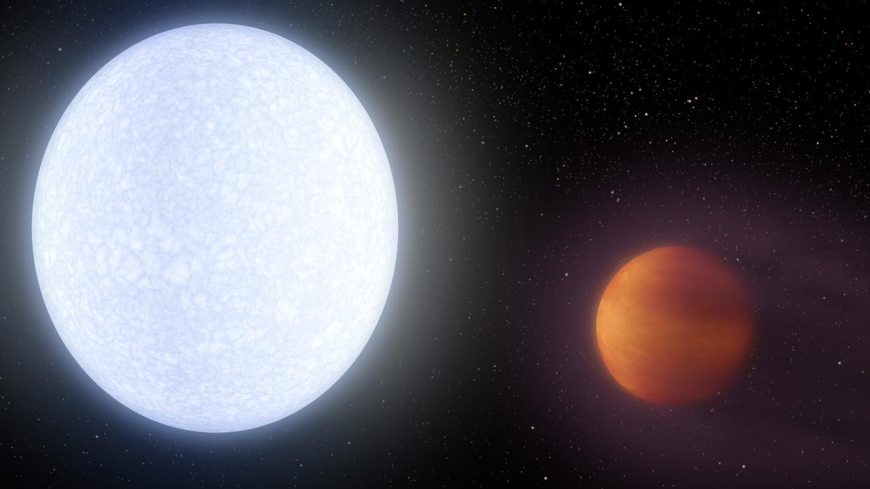 Exoplanète Kelt-9b © NASA