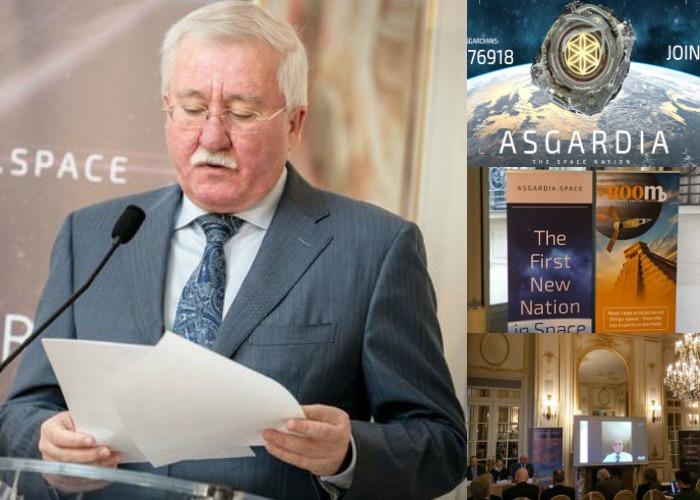 Igor Ashurbeyli, Père fondateur d'Asgardia © Ashurbeyli.ru