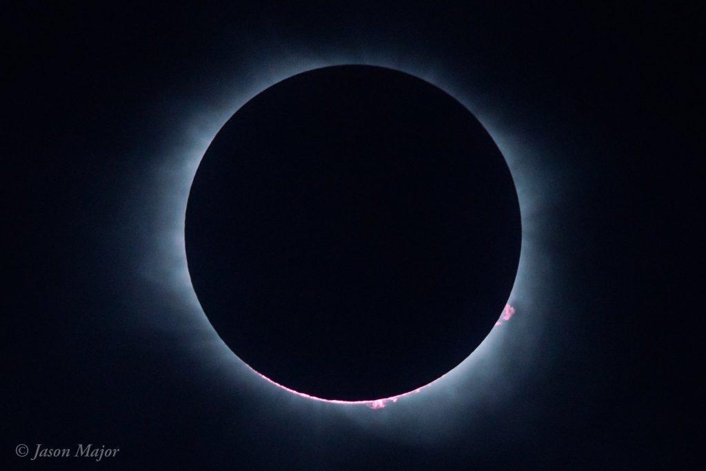 Eclipse solaire depuis Charleston, par Jason Major