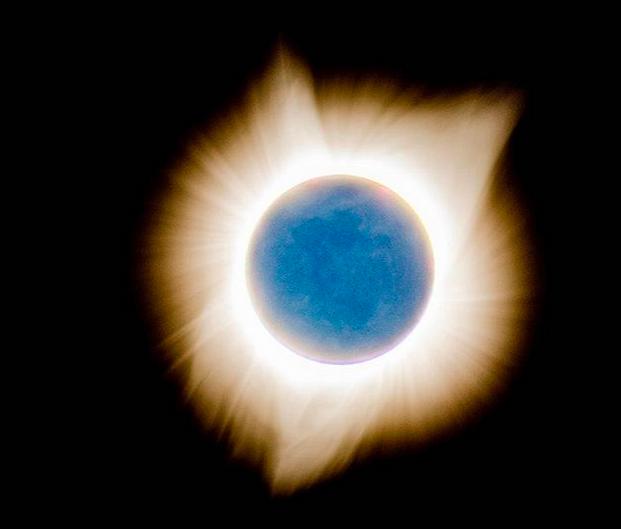 L'éclipse solaire vue depuis l'Oregon © Oregon Coast Travel