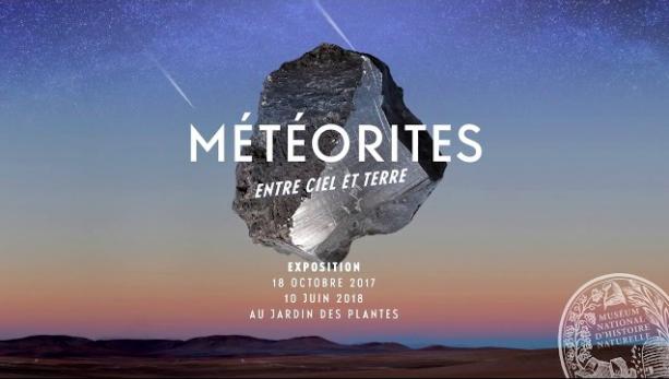 Exposition Météorites à Paris © MNHN