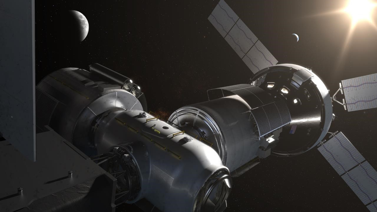 Le programme Deep Space Gateway va aider à mener des missions lointaines © NASA