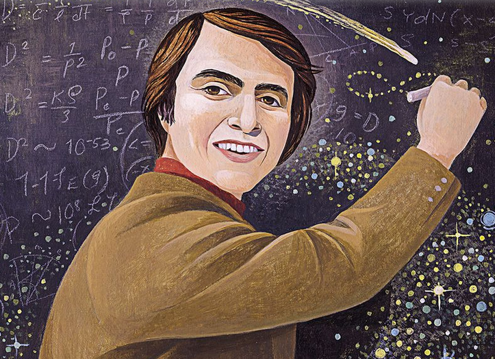 Carl Sagan © Smithsonian Magazine