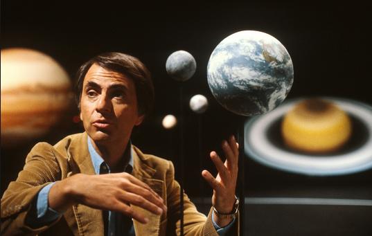 Carl Sagan © Ulyces