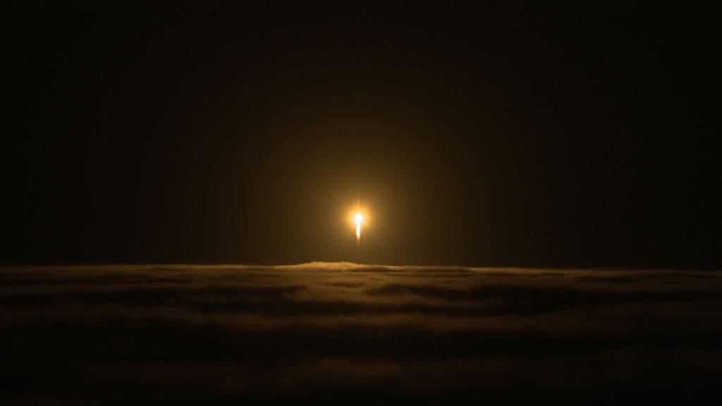 Fusée Atlas V au décollage © NASA