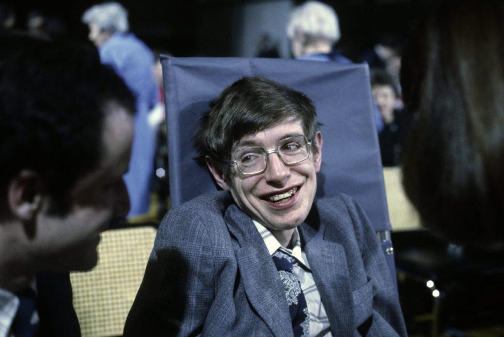 Stephen Hawking à Princeton en 1979 © Getty Images