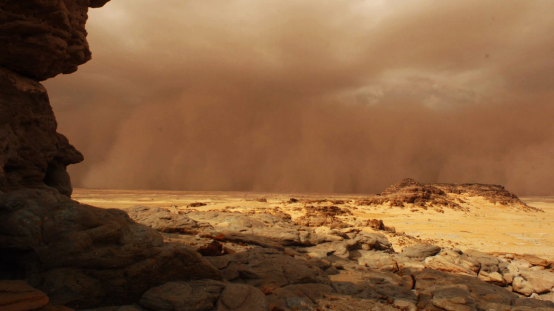 Tempête sur Mars © NatGeo