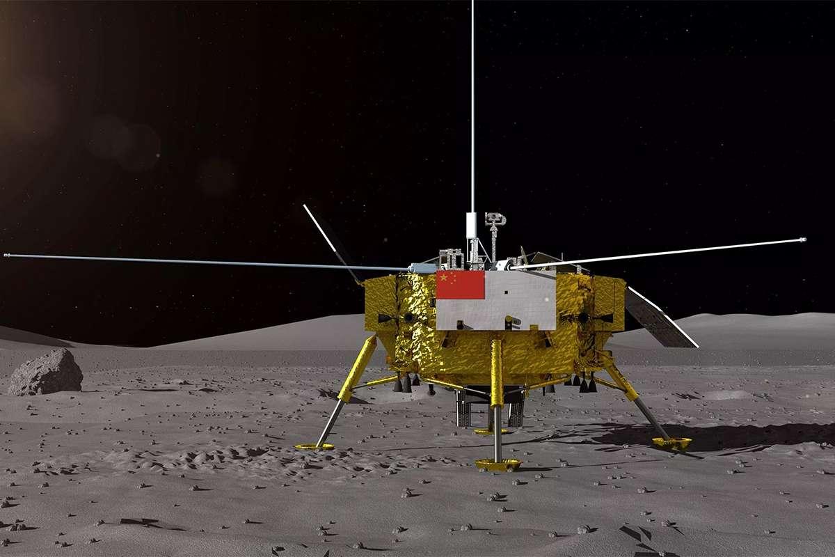 Module lunaire Chang'e-4 © CASC