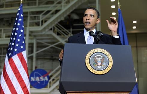 Barack Obama NASA