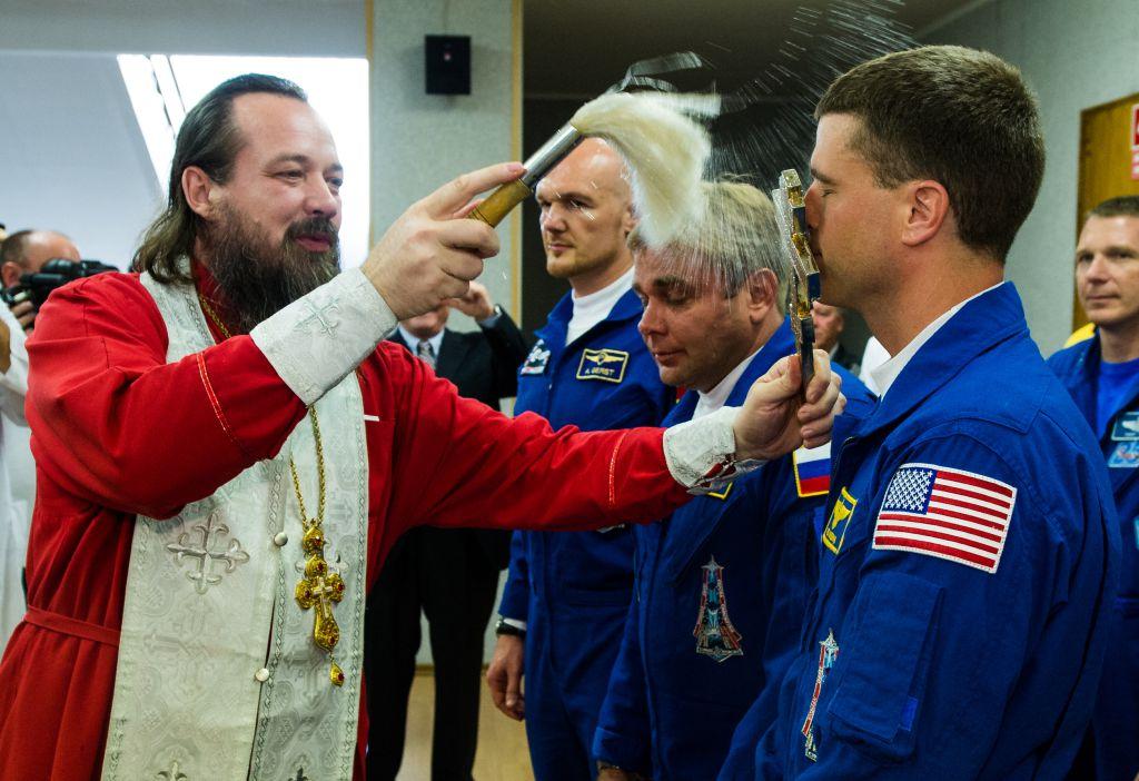 AstroNova le blog de l'astronomie et de l'espace - Cérémonie du pope @ NASA