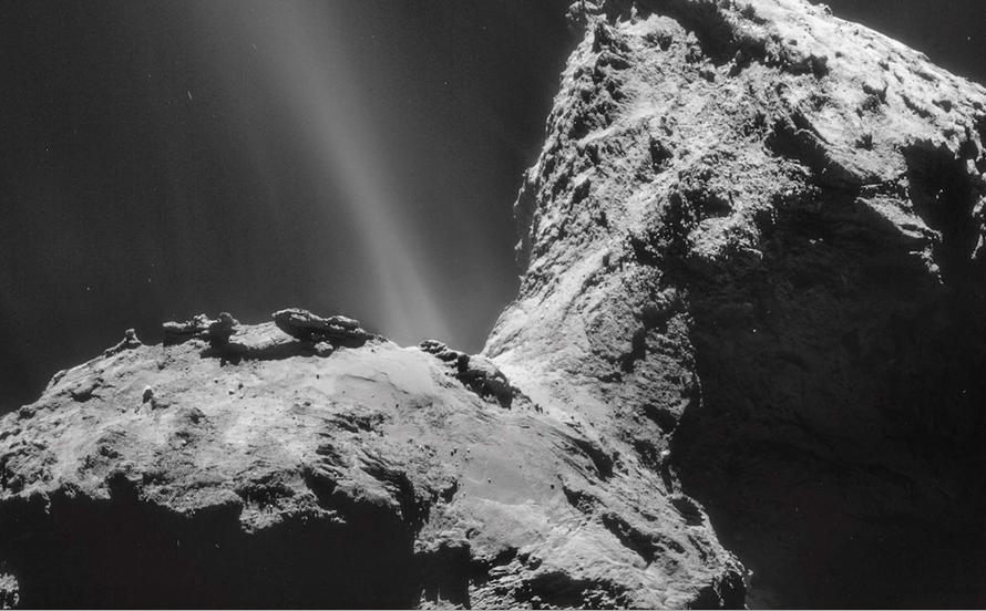 La comète Tchouri © ESA