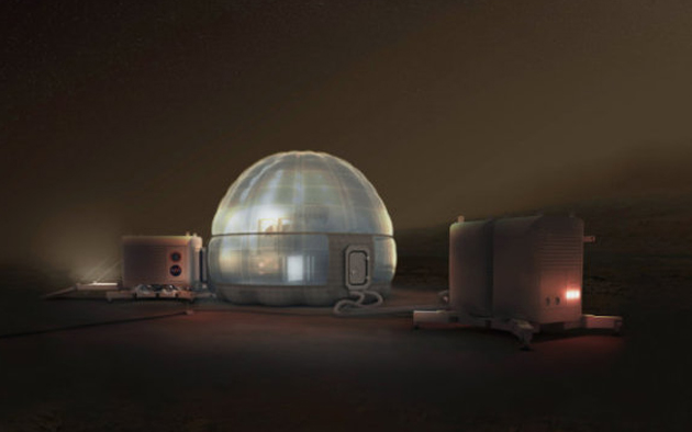 Concept d'igloo martien © NASA