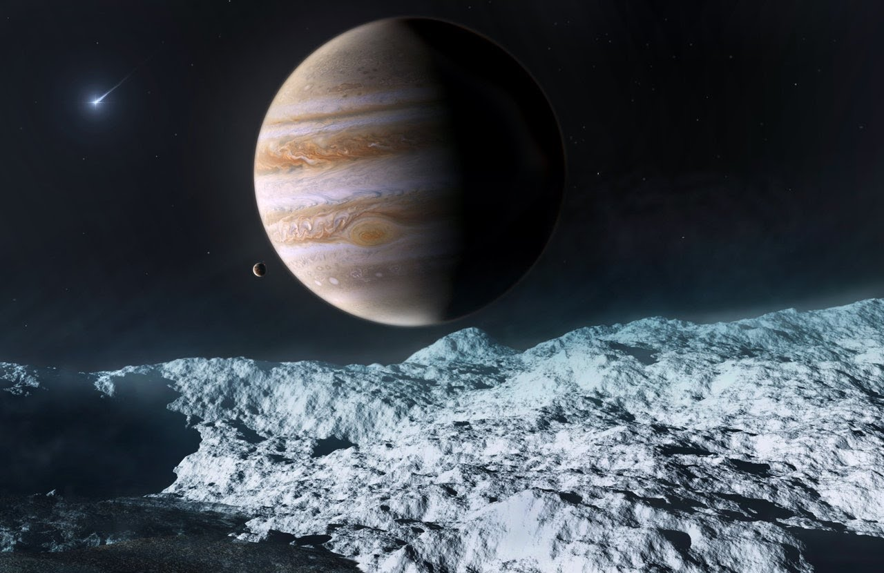 Les lunes de Jupiter © Daily Galaxy