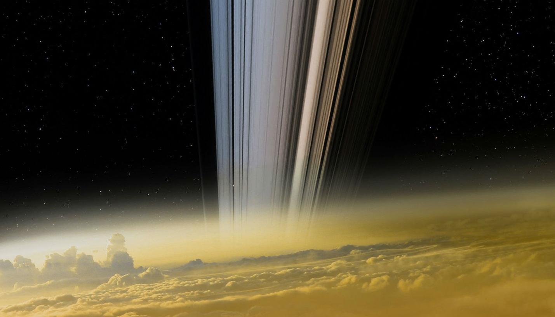Illustration des derniers instants de Cassini © C&E