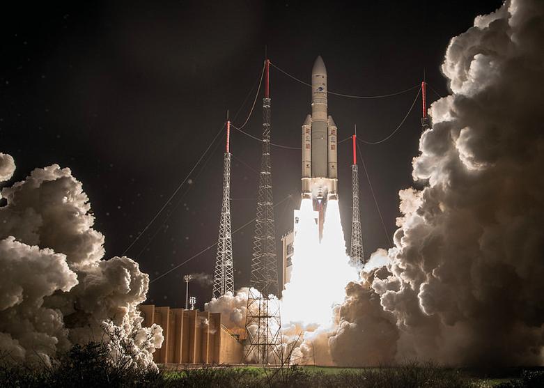 Lancement VA241 d'Ariane 5 © CNES