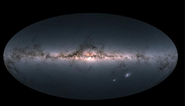 La carte céleste de Gaia © ESA