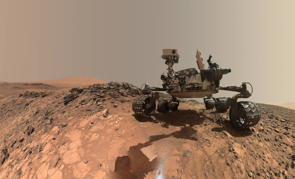 Rover Curiosity sur Mars © NASA